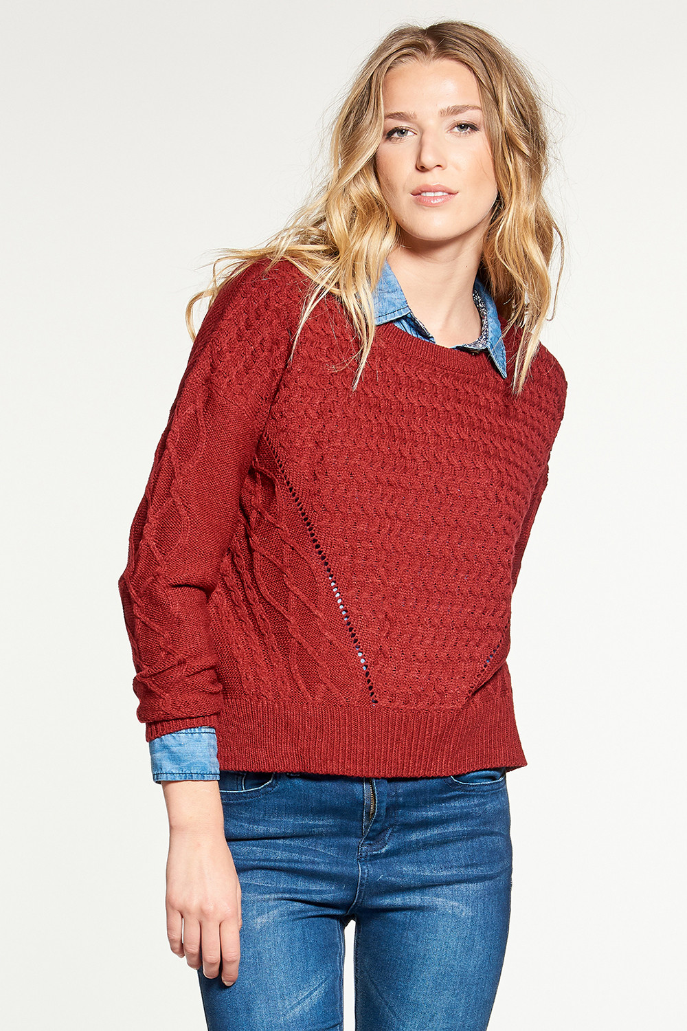 Sweater Sweater STORY Woman W18306W (38438) - DEELUXE-SHOP