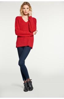 Sweater PILE Woman W18310W (38456) - DEELUXE-SHOP