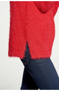Sweater PILE Woman W18310W (38460) - DEELUXE-SHOP