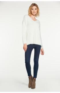 Sweater PILE Woman W18310W (38462) - DEELUXE-SHOP