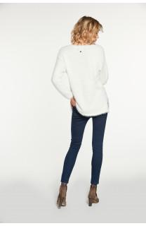 Sweater PILE Woman W18310W (38463) - DEELUXE-SHOP