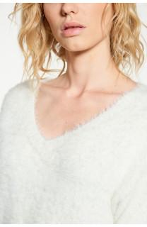 Sweater PILE Woman W18310W (38464) - DEELUXE-SHOP