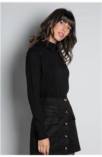 Sweater SWEATER BASIC Woman W18313W (38481) - DEELUXE-SHOP