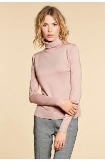 Sweater SWEATER BASIC Woman W18313W (38490) - DEELUXE-SHOP