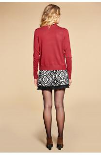 Sweater SWEATER BASIC Woman W18313W (38491) - DEELUXE-SHOP