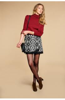 Sweater SWEATER BASIC Woman W18313W (38492) - DEELUXE-SHOP