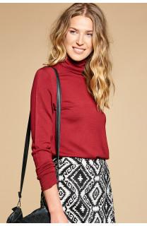 Sweater SWEATER BASIC Woman W18313W (38493) - DEELUXE-SHOP