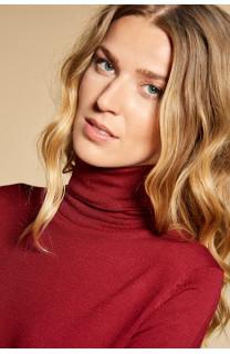 Sweater SWEATER BASIC Woman W18313W (38494) - DEELUXE-SHOP