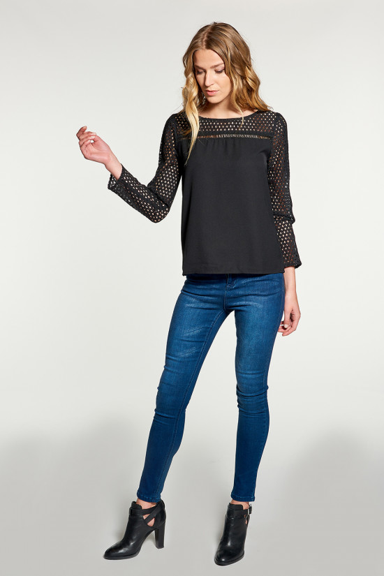 Blouse Blouse CARLA Woman W18428W (38571) - DEELUXE-SHOP