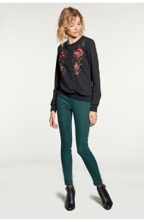 Sweatshirt Sweatshirt FLOW Woman W18501W (38575) - DEELUXE-SHOP