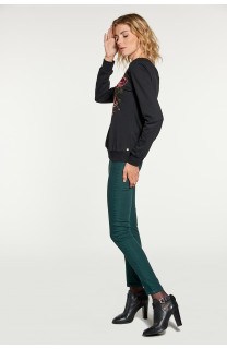 Sweatshirt Sweatshirt FLOW Woman W18501W (38576) - DEELUXE-SHOP