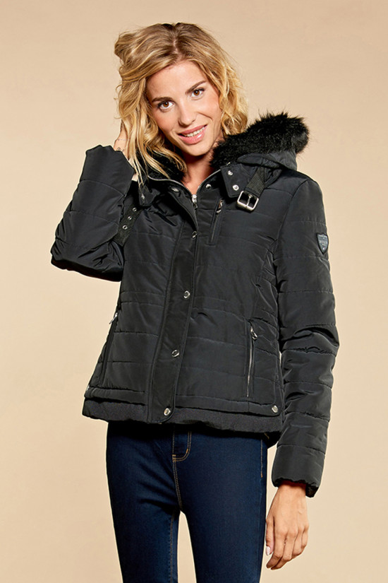 Puffy Jacket CHRISTIE Woman W18611W (38587) - DEELUXE-SHOP