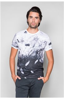 T-Shirt WINGS Homme W18144 (38768) - DEELUXE