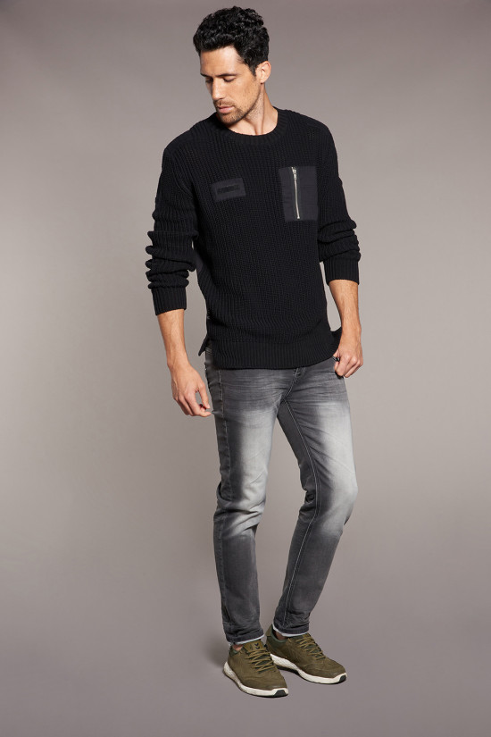 Sweater Sweater MISSILE Man W18315 (38862) - DEELUXE-SHOP