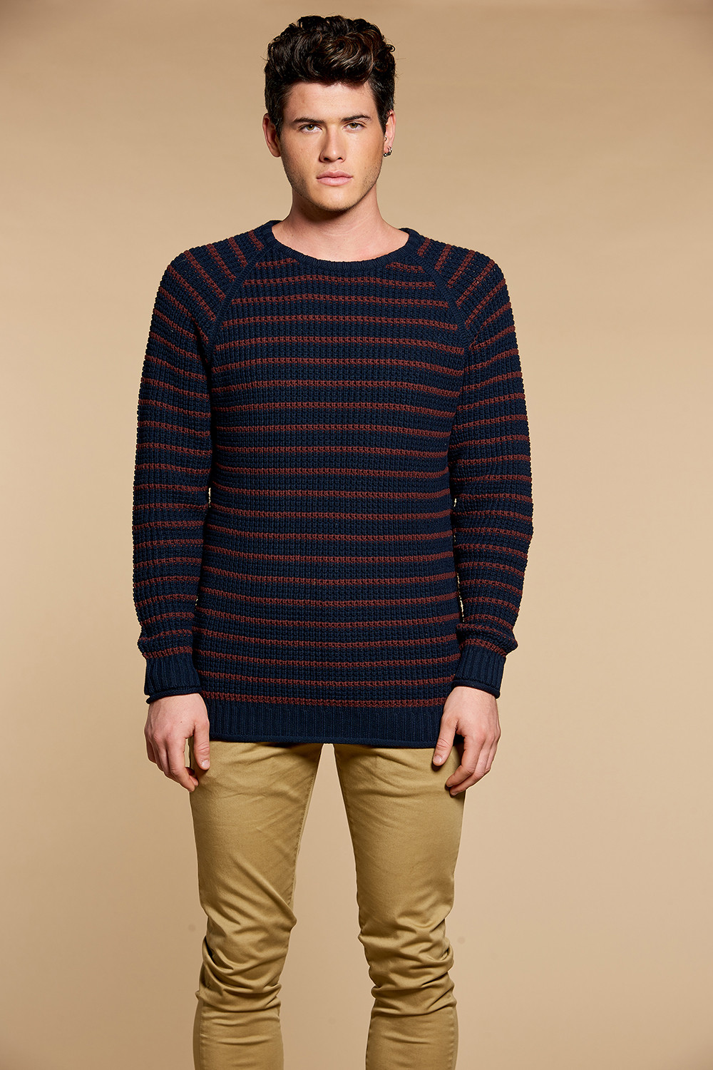 Sweater Sweater LEOTIE Man W18326 (38892) - DEELUXE-SHOP
