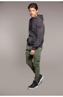 Sweatshirt Sweatshirt RUSSO Man W18545 (39073) - DEELUXE-SHOP