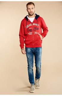 Sweatshirt NEWSONG Man W18554 (39077) - DEELUXE-SHOP