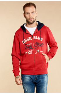 Sweatshirt NEWSONG Man W18554 (39078) - DEELUXE-SHOP