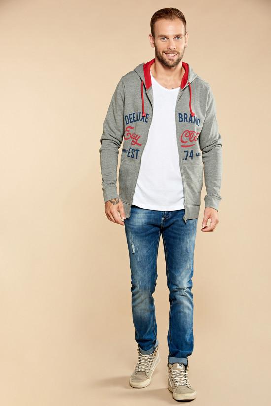 Sweatshirt NEWSONG Man W18554 (39084) - DEELUXE-SHOP
