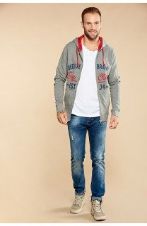 Sweatshirt NEWSONG Man W18554 (39082) - DEELUXE-SHOP