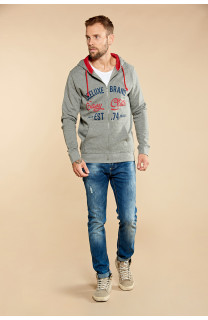 Sweatshirt NEWSONG Man W18554 (39083) - DEELUXE-SHOP