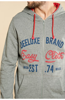 Sweatshirt NEWSONG Man W18554 (39086) - DEELUXE-SHOP