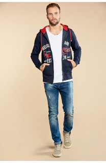 Sweatshirt NEWSONG Man W18554 (39087) - DEELUXE-SHOP