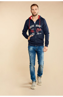 Sweatshirt NEWSONG Man W18554 (39088) - DEELUXE-SHOP