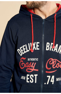 Sweatshirt NEWSONG Man W18554 (39092) - DEELUXE-SHOP
