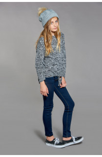 Pull CHARLY Fille W18315G (39369) - DEELUXE