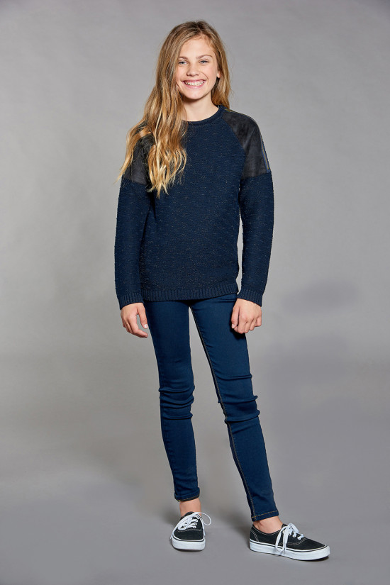 Sweater Sweater NOAM Girl W18320G (41333) - DEELUXE-SHOP