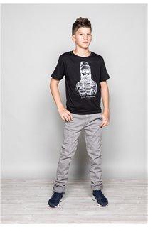 T-shirt T-shirt TELLIER Boy W18116B (39451) - DEELUXE-SHOP