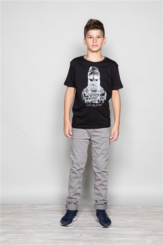 T-shirt TELLIER Boy W18116B (39452) - DEELUXE-SHOP