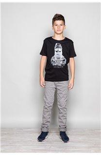 T-shirt T-shirt TELLIER Boy W18116B (39452) - DEELUXE-SHOP