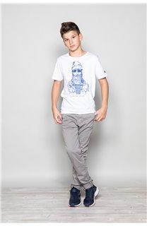 T-shirt T-shirt TELLIER Boy W18116B (39456) - DEELUXE-SHOP