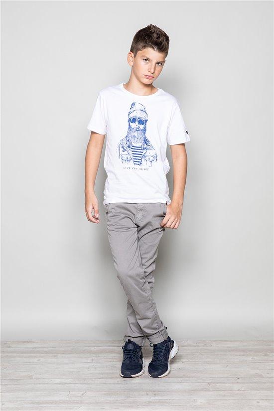 T-Shirt TELLIER Garçon W18116B (39452) - DEELUXE