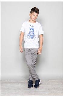 T-shirt T-shirt TELLIER Boy W18116B (39457) - DEELUXE-SHOP