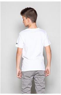 T-shirt T-shirt TELLIER Boy W18116B (39458) - DEELUXE-SHOP
