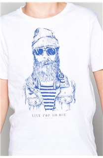 T-Shirt TELLIER Garçon W18116B (39459) - DEELUXE