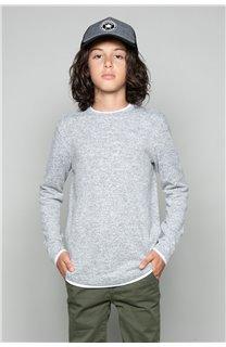 T-shirt T-SHIRT MOHANSON Boy W18119B (39465) - DEELUXE-SHOP