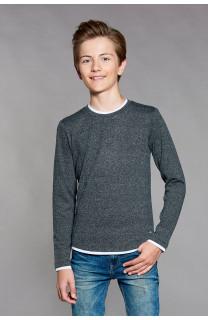 T-shirt T-SHIRT MOHANSON Boy W18119B (39466) - DEELUXE-SHOP