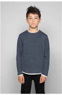 T-shirt T-SHIRT MOHANSON Boy W18119B (39469) - DEELUXE-SHOP