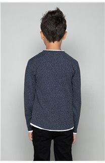 T-shirt T-SHIRT MOHANSON Boy W18119B (39470) - DEELUXE-SHOP