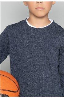 T-shirt T-SHIRT MOHANSON Boy W18119B (39471) - DEELUXE-SHOP