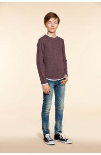 T-shirt T-SHIRT MOHANSON Boy W18119B (39473) - DEELUXE-SHOP
