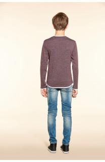 T-shirt T-SHIRT MOHANSON Boy W18119B (39475) - DEELUXE-SHOP
