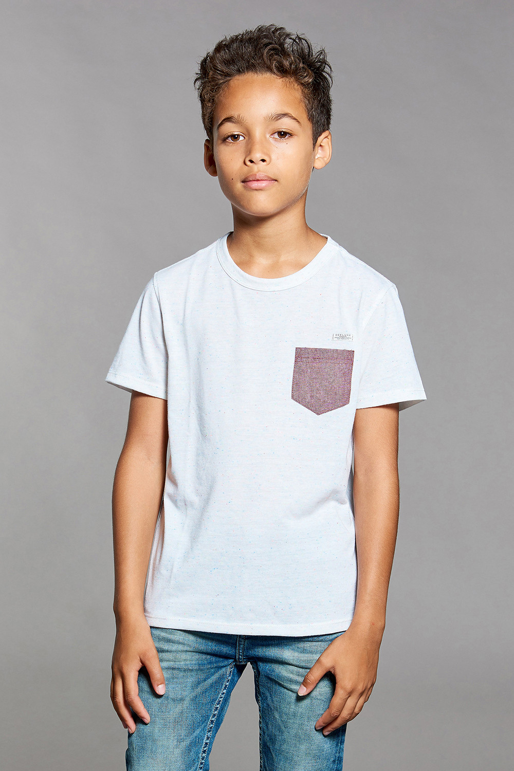 T-shirt T-shirt ANSWER Boy W18123B (39478) - DEELUXE-SHOP