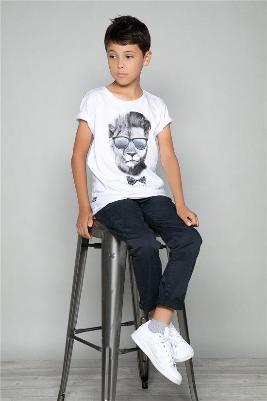 T-shirt T-shirt LIONMAN Boy W18135B (39500) - DEELUXE-SHOP