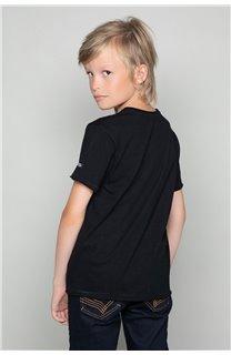 T-Shirt LIONMAN Garçon W18135B (39504) - DEELUXE