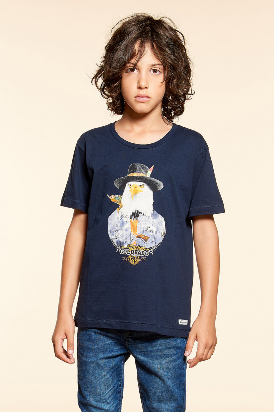T-shirt T-shirt EAGLE Boy W18140B (39511) - DEELUXE-SHOP